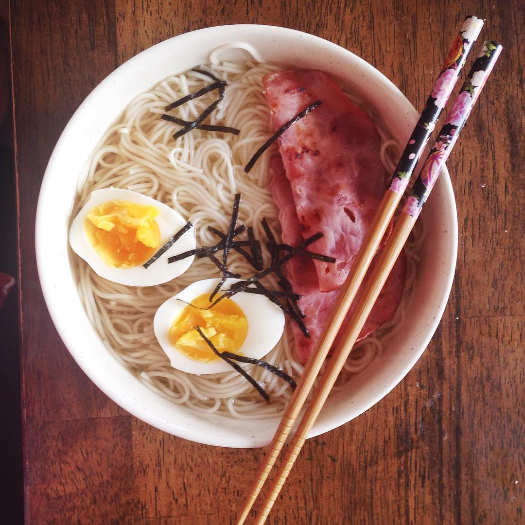 #Ramen – it's what's for #lunch. #homemade #foodporn #japanesefood #cooking #karate #health #happy Naperville, Illinois