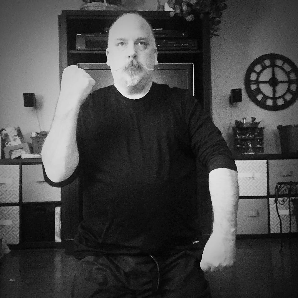 Day 20 of #30daysofkarate – can't believe I am already 2/3 done! Today was a long day at the end of a long week and I hit the wall at 45 minutes instead of my hour. No worries – with a couple of days with over 2 hours in the #dojo this week, I can forgive a 15 minute shortfall today. 😎 spent tonight doing some straight line #kata and ended tonight with some more #visualization #exercises and #meditation  #karate #martialarts #innerpeace #innerstrength #training #pinan #heian #breath @karateculture @ando_mierzwa Naperville, Illinois