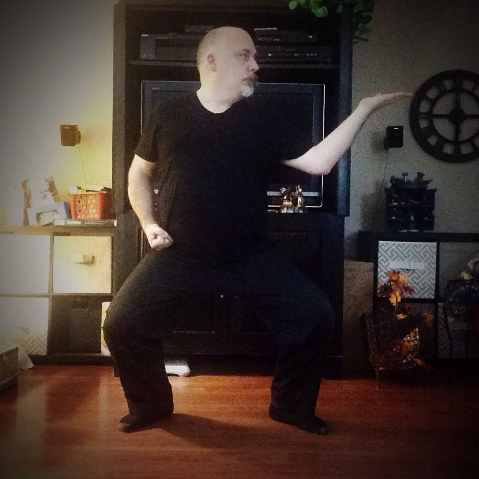 That's it. That's a full #30daysofkarate  Tonight was a great finish to the exercise- 15 minutes each of #kata , #kihon , #kobudo (#tonfa specifically), and then finishing with #meditation – I'm #grateful for three things: the support of people here on IG who I greatly #respect , the rekindling of the desire and habit to continue #training , and that counting every day for 30 days is over. Thanks especially to @karateculture @ando_mierzwa @mishasm and @jadonisw for the daily visit to my IG feed along with the words of encouragement. In fact, a huge thank you to everyone who visited. Last thought – if *I* can do it, so can you. #karate #martialarts #innerpeace #innerstrength #wisdom #nindachi #pinan #shorei Naperville, Illinois