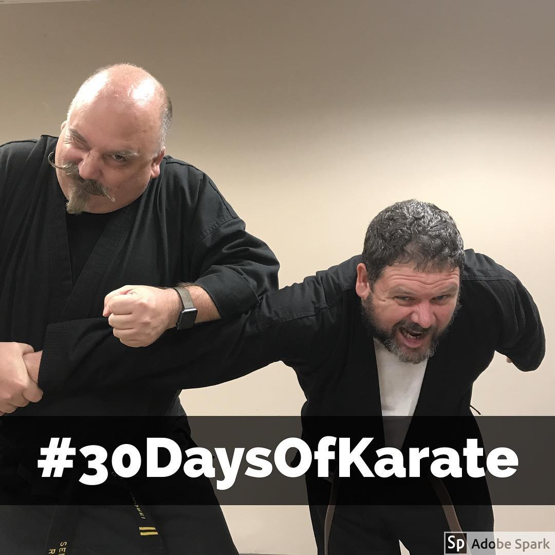 #30daysofkarate – it was a pleasure and #honor to test (among others) @erickastengren  for 3rd kyu tonight. An hour in the dojo and that's a wrap for tonight. Congratulations! #karate #martialarts #bushido #budo #blackbelt #dojo #training #strength #testing #fun #goju #shorei #achieve @jeremylesniak @jay_the_sensational @ando_mierzwa @mish.mash.do @karateculture