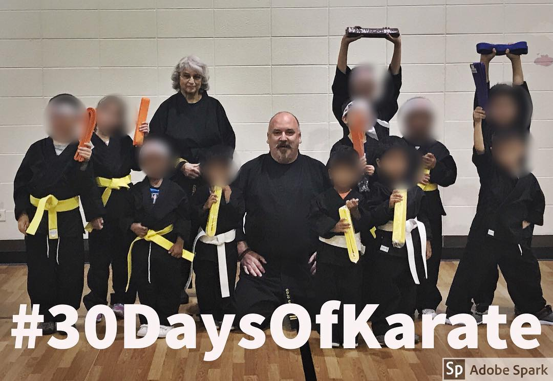 #30daysofkarate and it's Day 13 already! Tonight was the second day of testing my young #karateka and I'm incredibly #proud of them. They worked hard and definitely earned their new belts. Gonna finish the day a little while from now with some #meditation under the stars. @karateculture @mish.mash.do @ando_mierzwa @jay_the_sensational @jeremylesniak @erickastengren #karate #martialarts #bushido #meditation #training #kidskarate