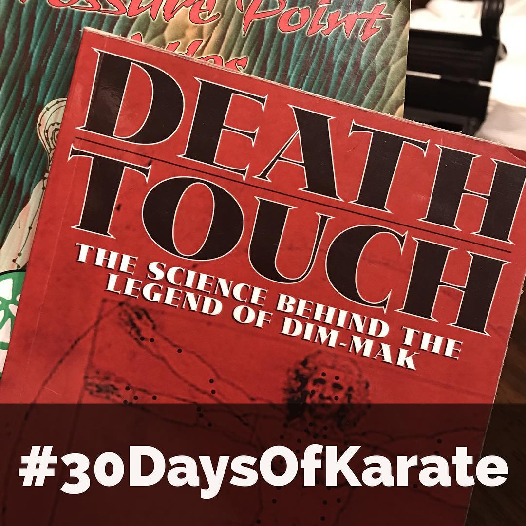 An excellent #book with an unfortunate name. Delves into modern #medicine and talks about #vital #points in terms of their place within the #centralnervoussystem  Yes, day 14 of #30daysofkarate was spent #reading #studying and #practicing #kyusho  Whether or not you believe in its practical application, it's part of #martialarts #history and worth studying. And, of course, finished today with #meditation. #karate #bushido #budo #strength #pressurepoints #tcm @erickastengren @jeremylesniak @karateculture @jay_the_sensational @ando_mierzwa @mish.mash.do